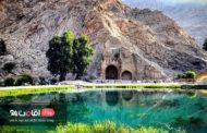 طاق بستان کرمانشاه ، حکایت مصور تاریخ ایران
