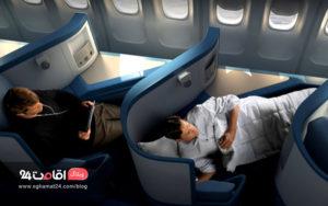 راهکارها و اقدامت مناسب در پروازهای طولانی