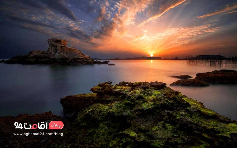 جزایر ناز ؛ جزایری زیبا در جوار جزیره قشم