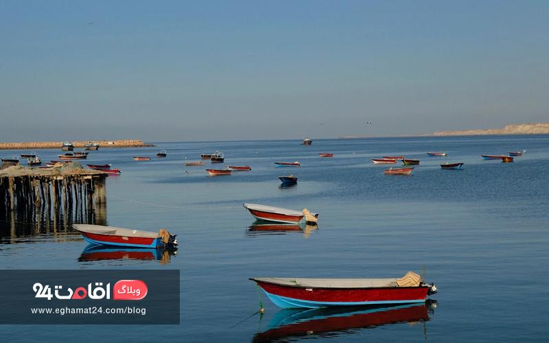دریای بزرگ و کوچک چابهار