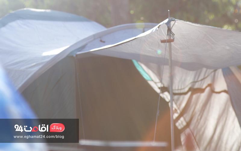 روش برپایی چادر مسافرتی و مواردی که باید رعایت کرد