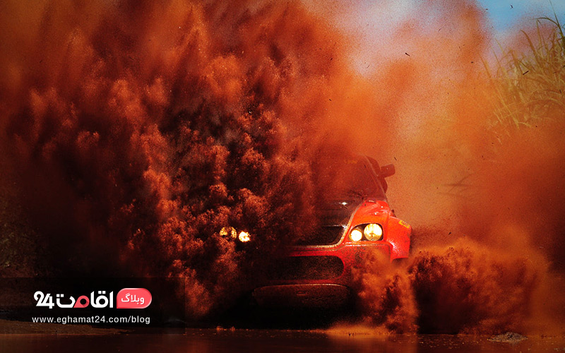راهکارهای خروج خودرو از باتلاق