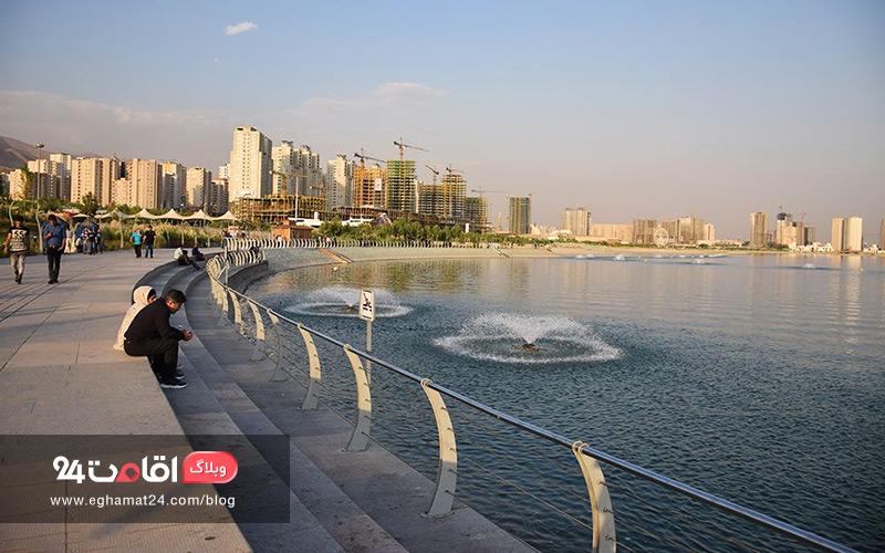 دریاچه های اطراف تهران