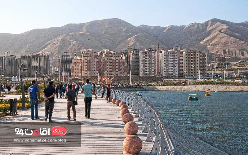 دریاچه شهدای خلیج فارس تهران