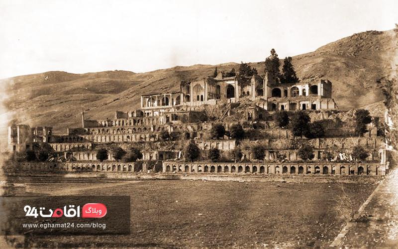 باغ تخت شیراز کجاست