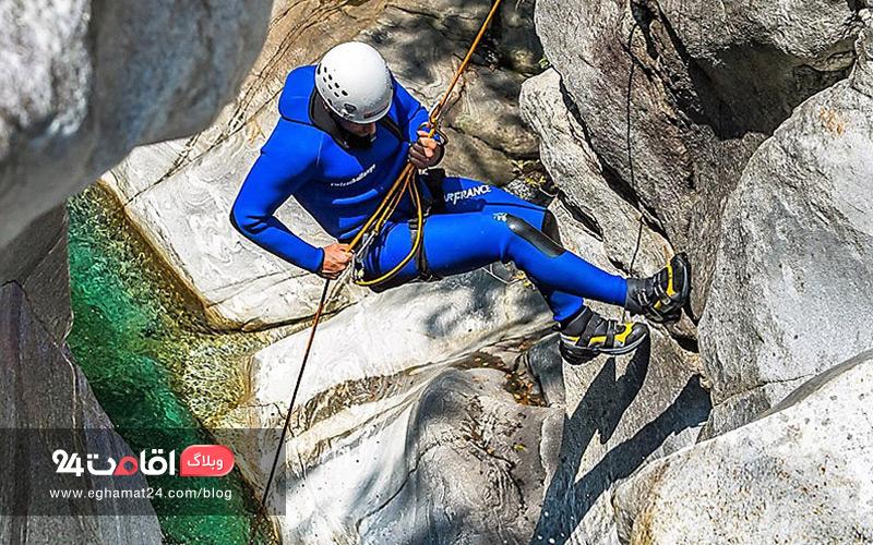 آموزش انواع گره در کوهنوردی