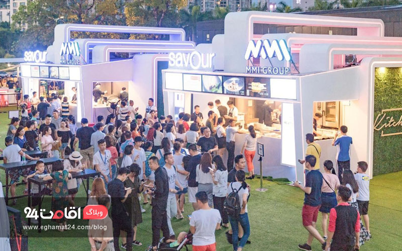جشنواره غذا سنگاپور