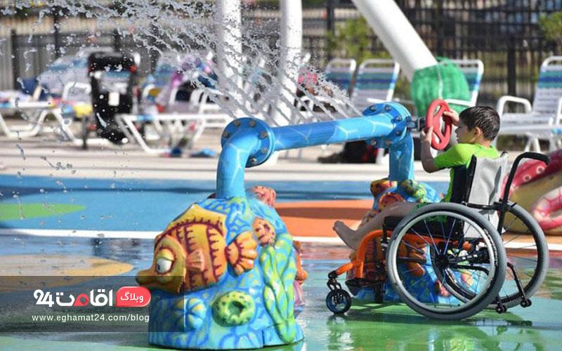 معلولین در سفر