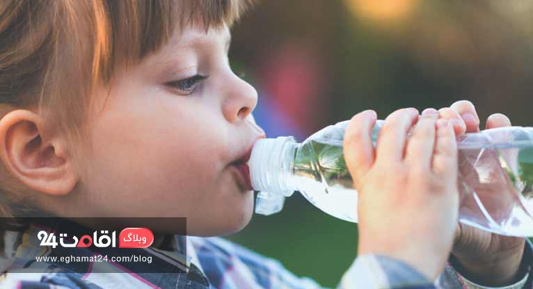 کم آبی بدن در کودکان