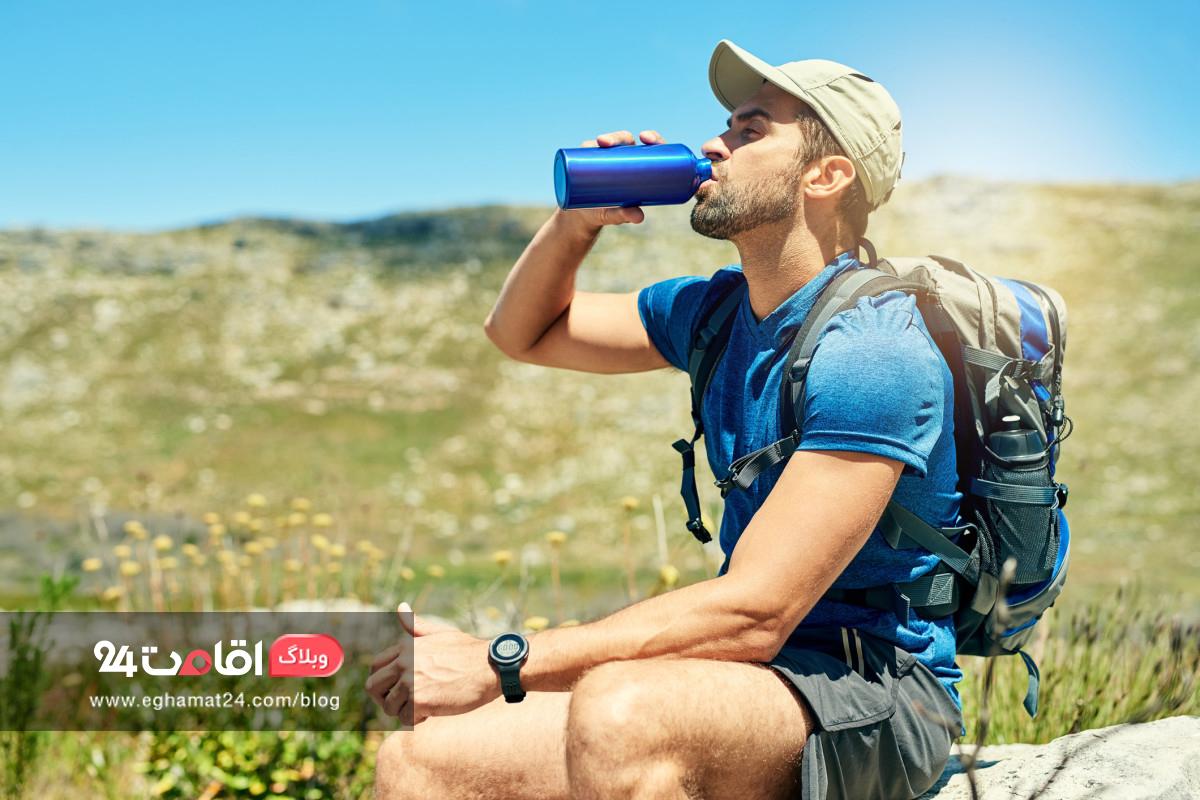 کم آبی بدن در سفرهای تابستان و راه های پیشگیری از آن