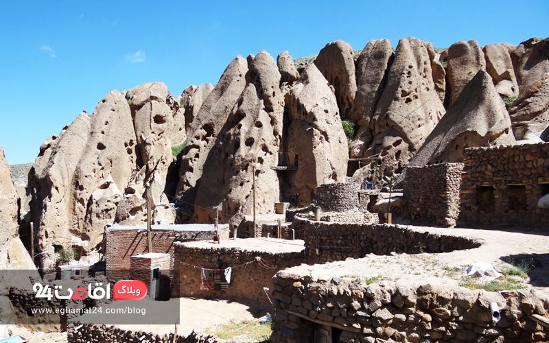 روستای صخره ای