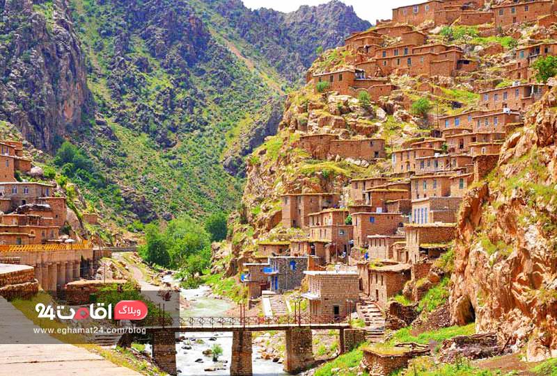 روستای پلنگان - جاهای دیدنی سنندج