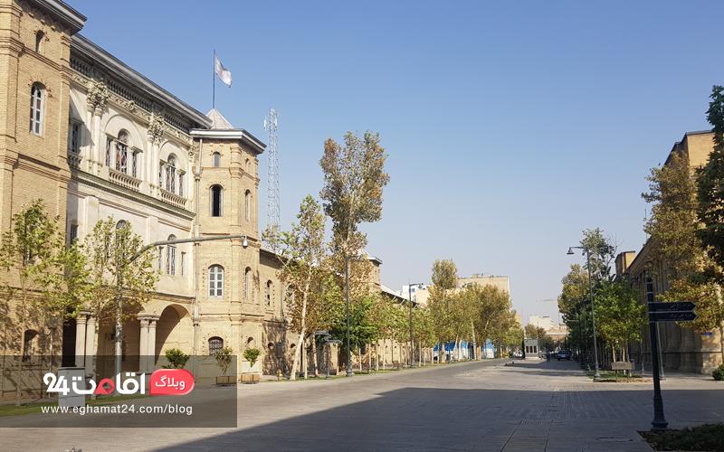 میدان مشق تهران