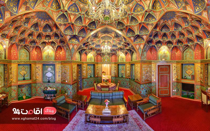 هتل عباسی اصفهان : زیباترین هتل خاور میانه در نصف جهان!