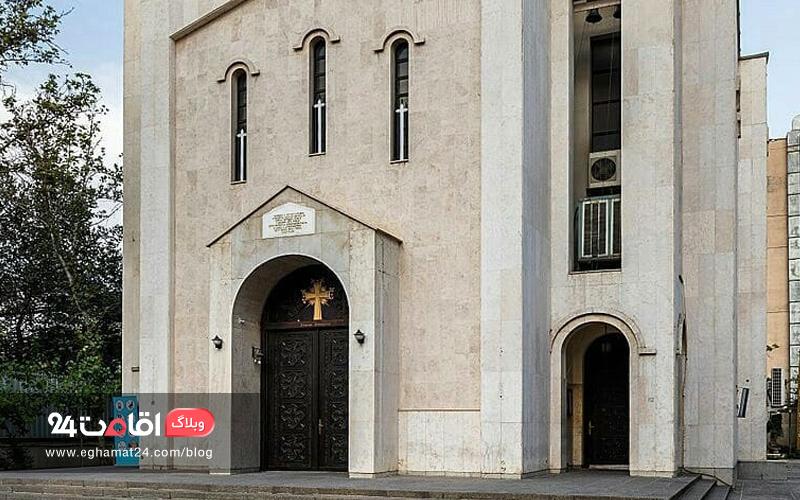 ورودی کلیسا سنت سرکیس