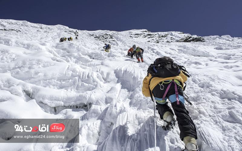 لوازم کوهنوردی زمستانی