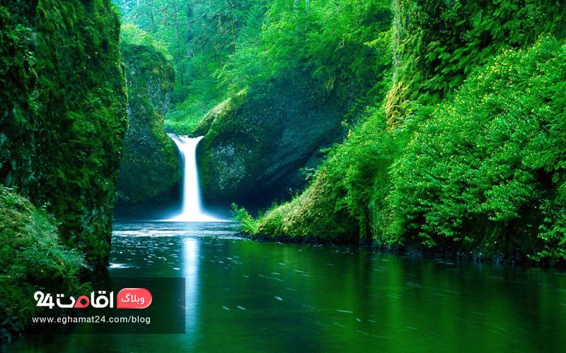 آبشار گزو، خروشی به ارتفاع یک آبشار
