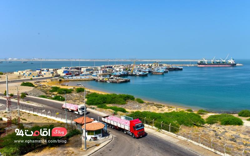 ساحل بندر چابهار