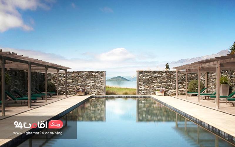Blanket Bay in Glenorchy, New Zealand
