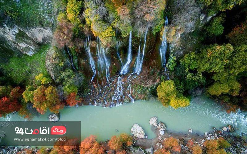 رودخانه سزار - دیدنی های دورود