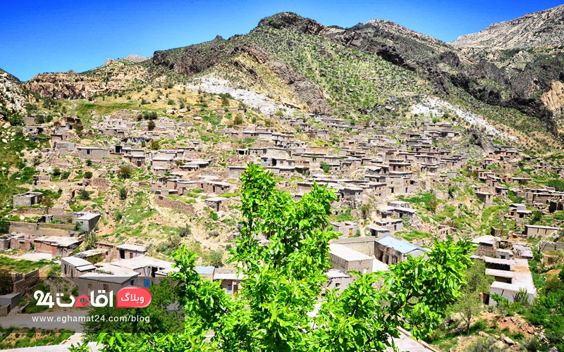 روستای لایزنگان - داراب