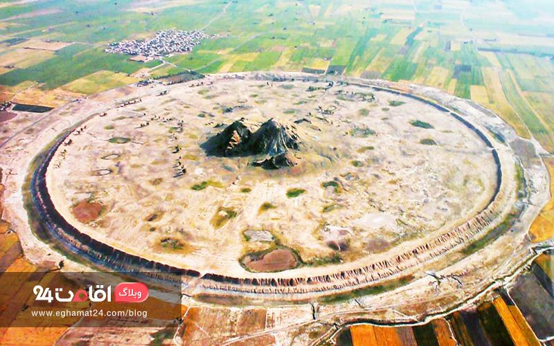 شهر باستانی دارابگرد - داراب