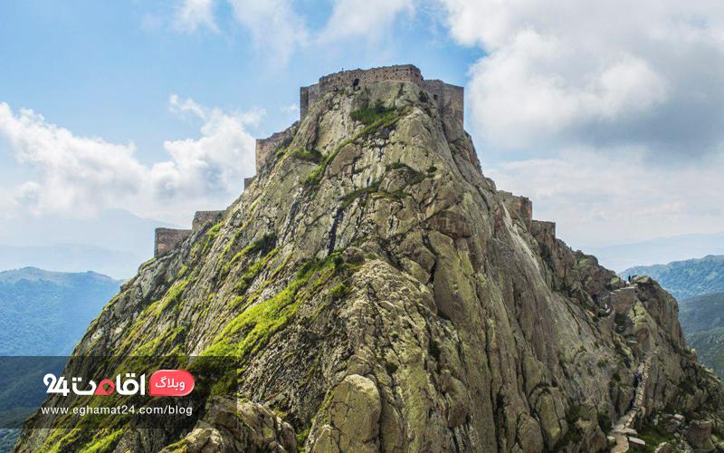 قلعه بابک ، دژ مستحکم بابک خرمدین به بلندای آسمان!