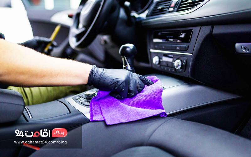 ماشین خود را تمیز کنید - سفر جاده ای
