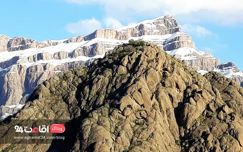 کوه پریز - دیدنی های دورود