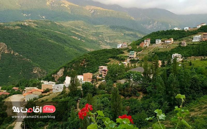 روستای چجا علی آباد کتول