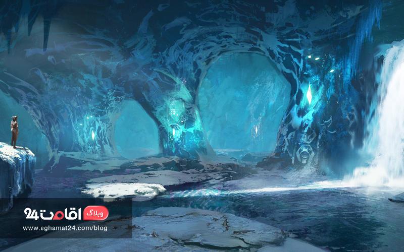 Giant Ice Caves - تصاویر طبیعت