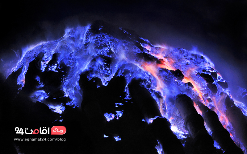 The Blue Volcano - عکس های طبیعت