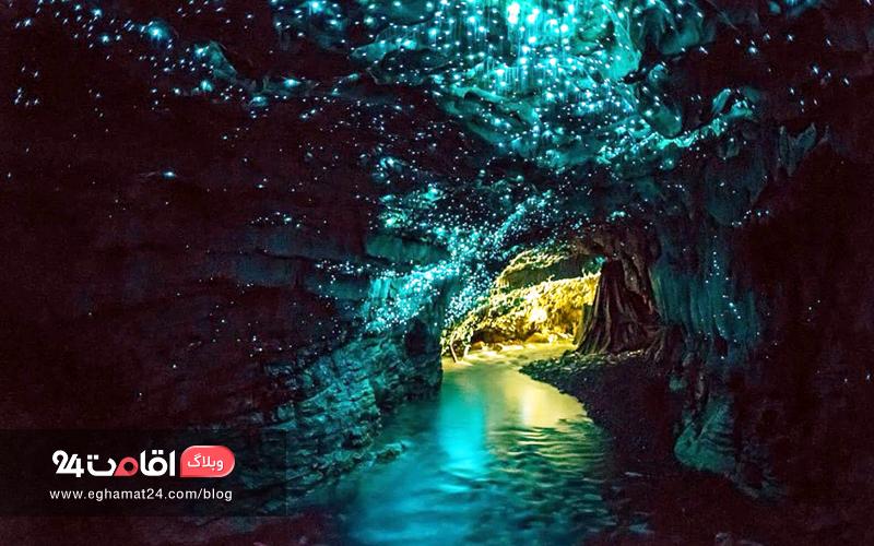 Waitomo Glowworm Caves - مناظر سورئال
