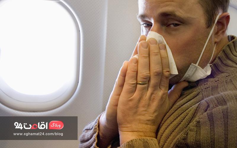 افزایش احتمال بیماری - عوارض پرواز