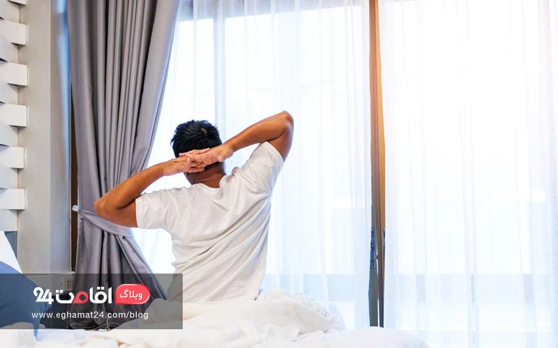 تاثیر اتاق هتل در خواب راحت