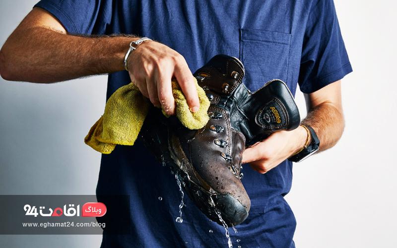 حفاظت و نگهداری از کفش - کفش کوهنوردی