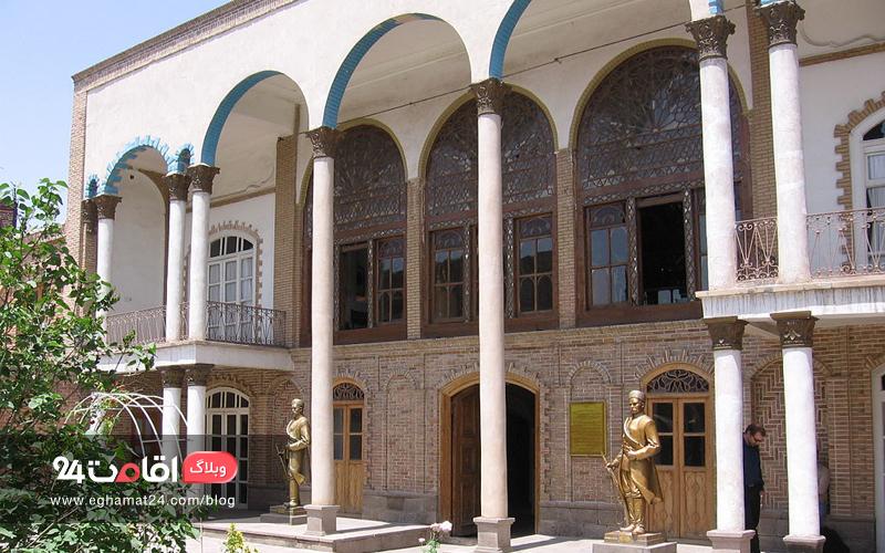 معماری خانه مشروطه تبریز