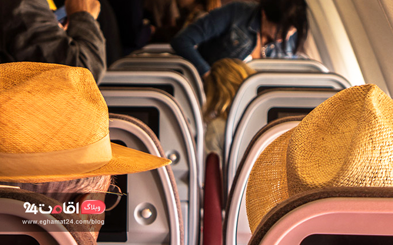 صندلی وسط هواپیما - پشیمانی از سفر ارزان