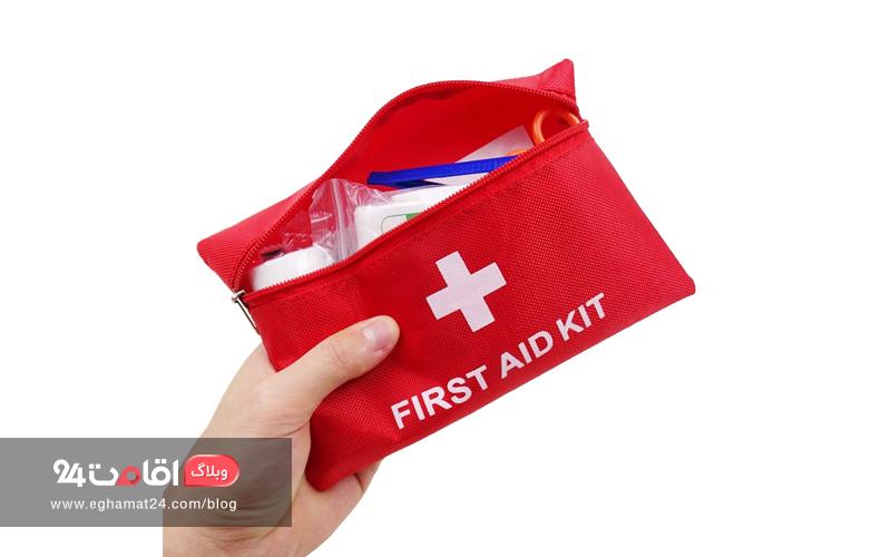 کمکهای اولیه - ملزومات سفر