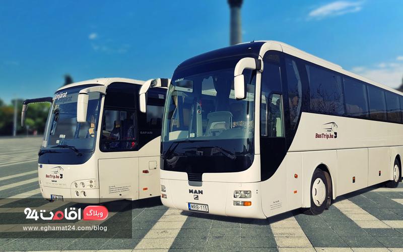 اتوبوس در سفر