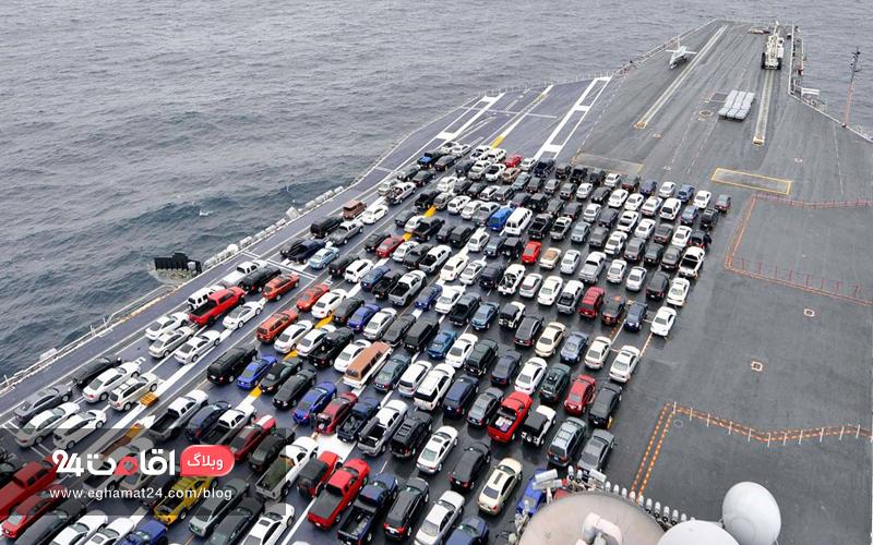 همه چیز درباره حمل خودرو به کیش
