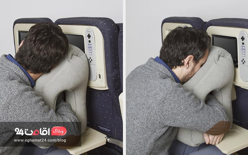 بالش سفری - خواب در هواپیما