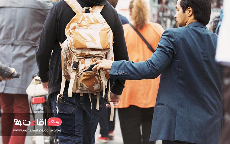 جیببرها در کمیناند - امنیت پول در سفر