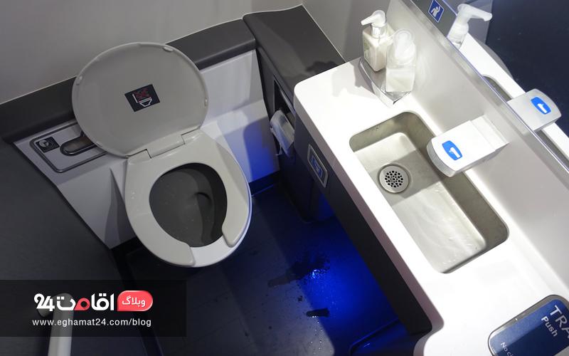 سرویس بهداشتی هواپیما - بهداشت سفر
