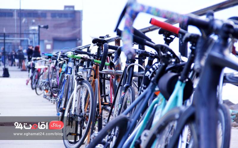 قفل دوچرخه - ایمنی سفر با دوچرخه