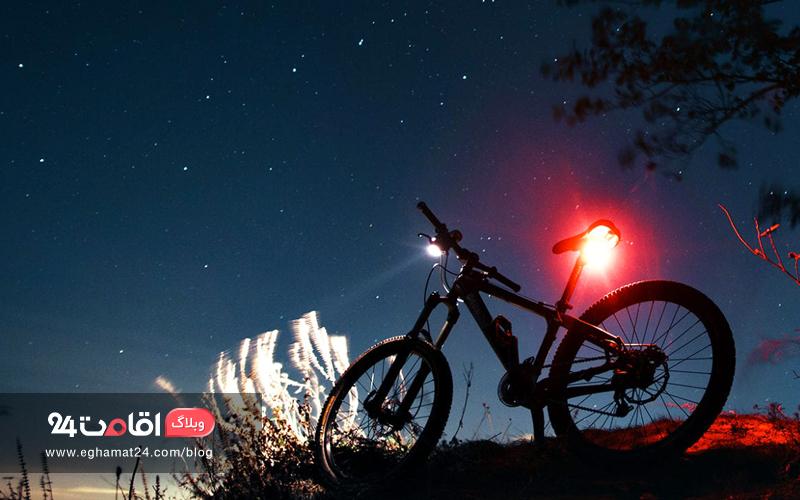 چراغ های دوچرخه - ایمنی سفر با دوچرخه
