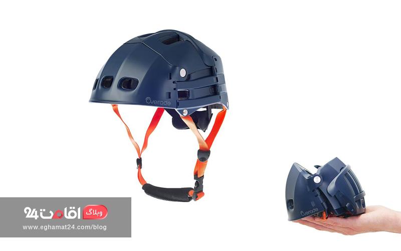 کلاه ایمنی - نکات ایمنی سفر با دوچرخه