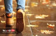 خیابانی برای پیاده روی در شهر...