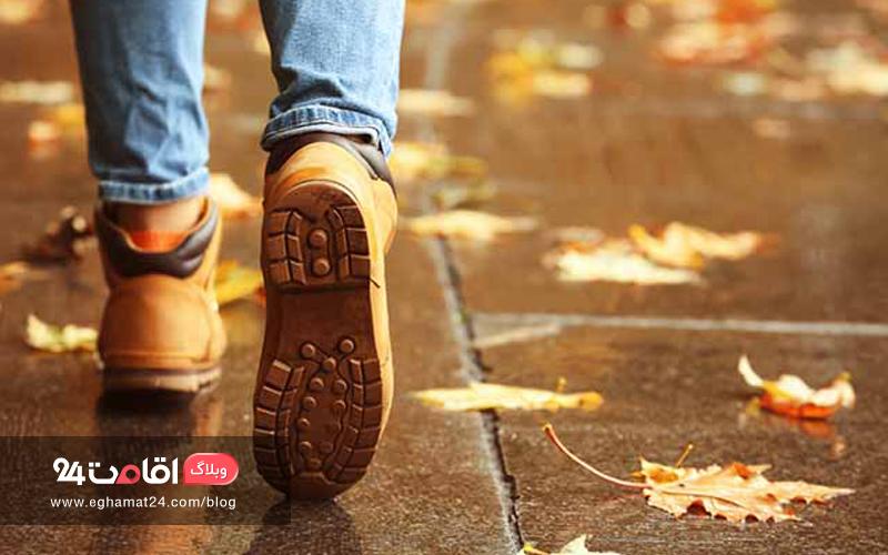 پیاده روی در خیابان