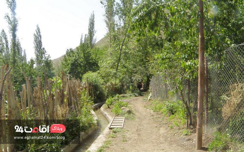 جاذبه های طبیعی روستای آهار